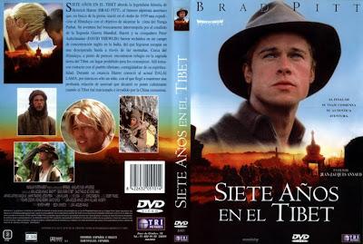 Cover, caratula, dvd: Siete años en el Tibet   1997   Seven Years in Tibet