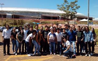 Excursão com alunos Etec