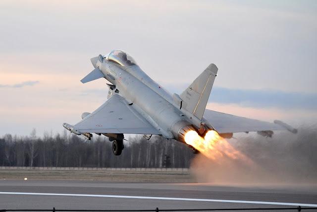 Eurofighter Aeronautica intercettano velivolo egiziano