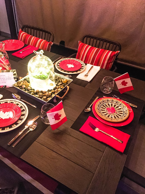 CANVAS Canadian Tire Outdoor Dishes Canada Day