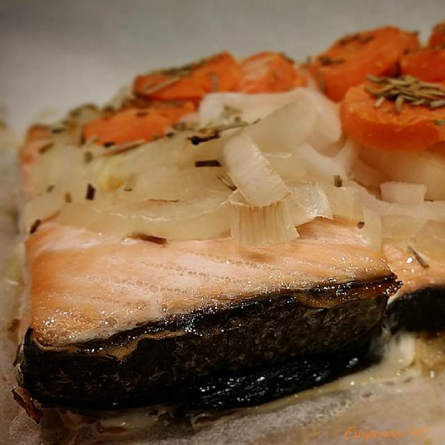 salmon-al-papillote