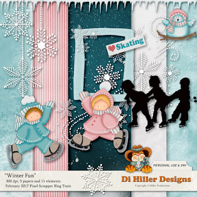 Winter Fun Blog Train Freebie