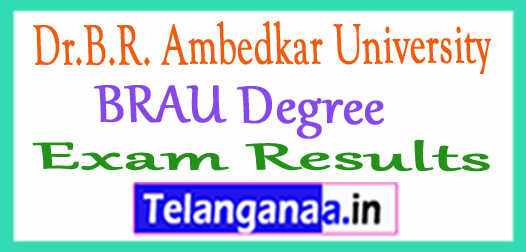 Dr.B.R. Ambedkar University BRAU Degree Exam Results