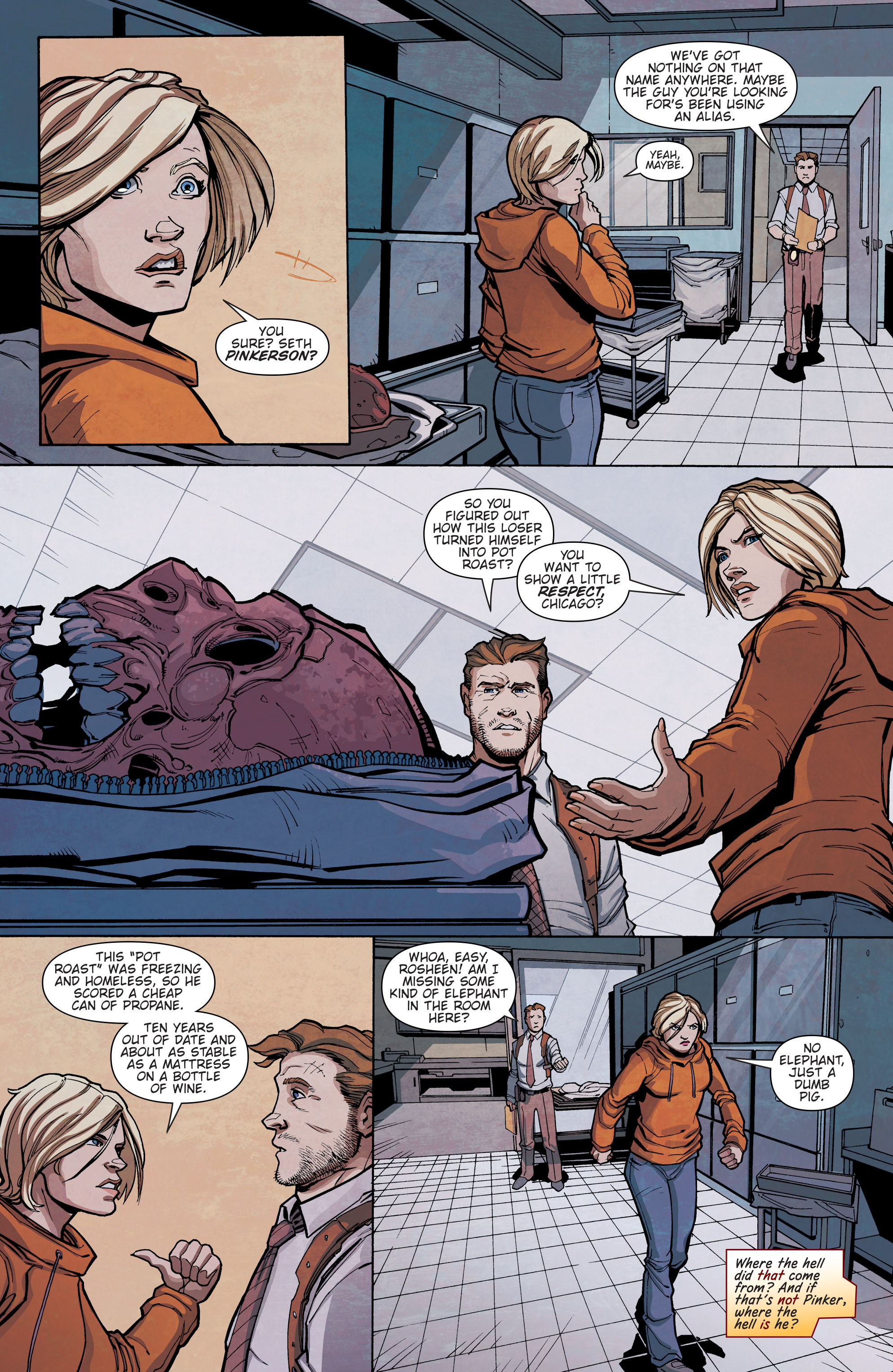 Read online Slash & Burn comic -  Issue #3 - 3