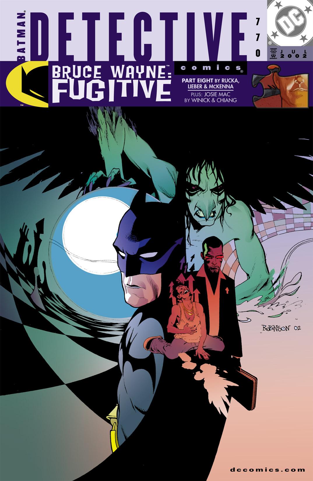 Detective Comics (1937) 770 Page 0