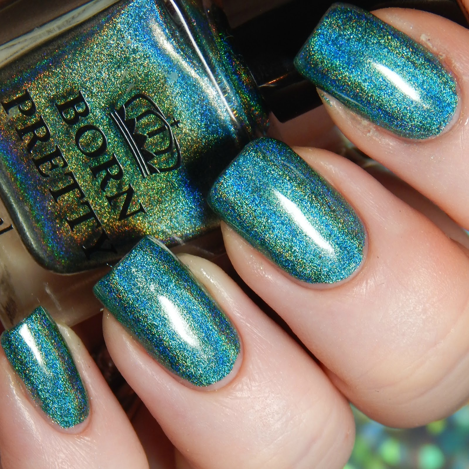 FairyTales Nails: Born Pretty Store Holographic polish and Plate ...