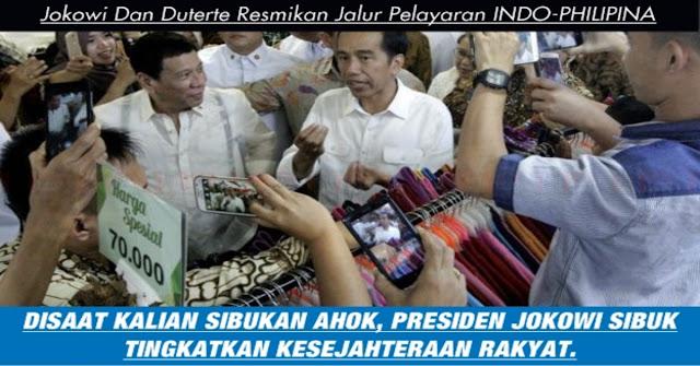 MANTAB, Tingkatkan Ekonomi, Presiden Jokowi Dan Duterte Resmikan Jalur Indonesia-Philiphina