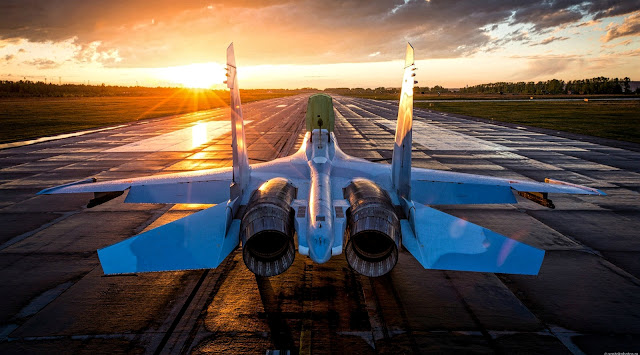 sunset su-30 russian air force