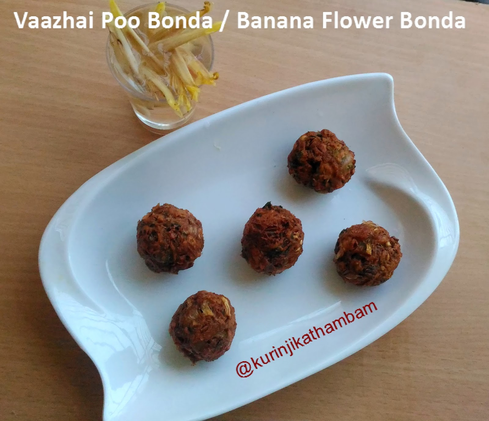 Banana Flower ( Vazhaipoo) Bonda Recipe | Vazhaipoo Recipes ...