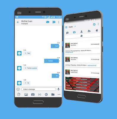 BBM Mod Twitter v3.3.0.16 Apk Update Terbaru