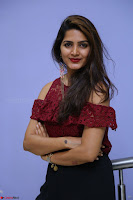 Pavani Gangireddy in Cute Black Skirt Maroon Top at 9 Movie Teaser Launch 5th May 2017  Exclusive 040.JPG