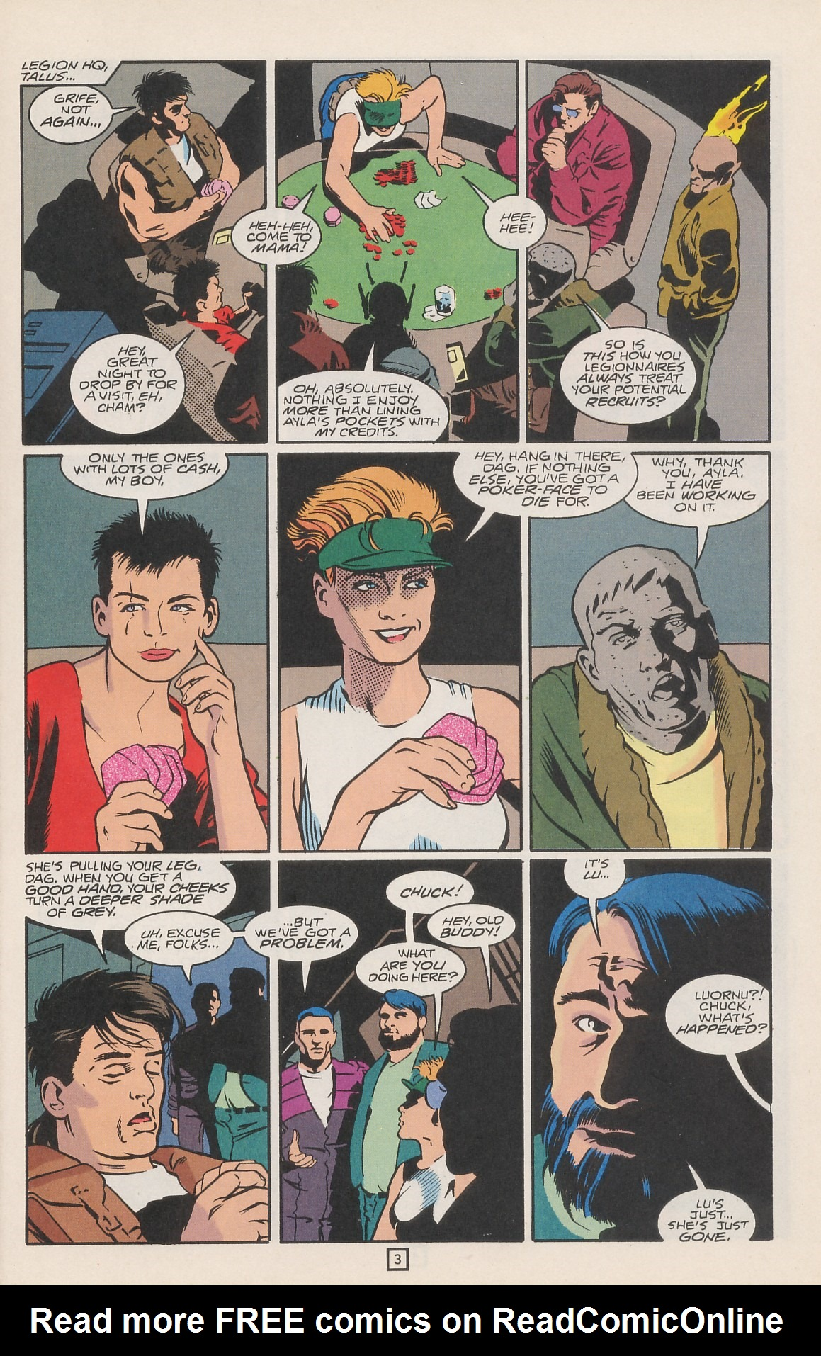 Legion of Super-Heroes (1989) 42 Page 4