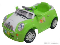 3 Mobil Mainan Aki Junior HD6879 Mini Cooper Medium