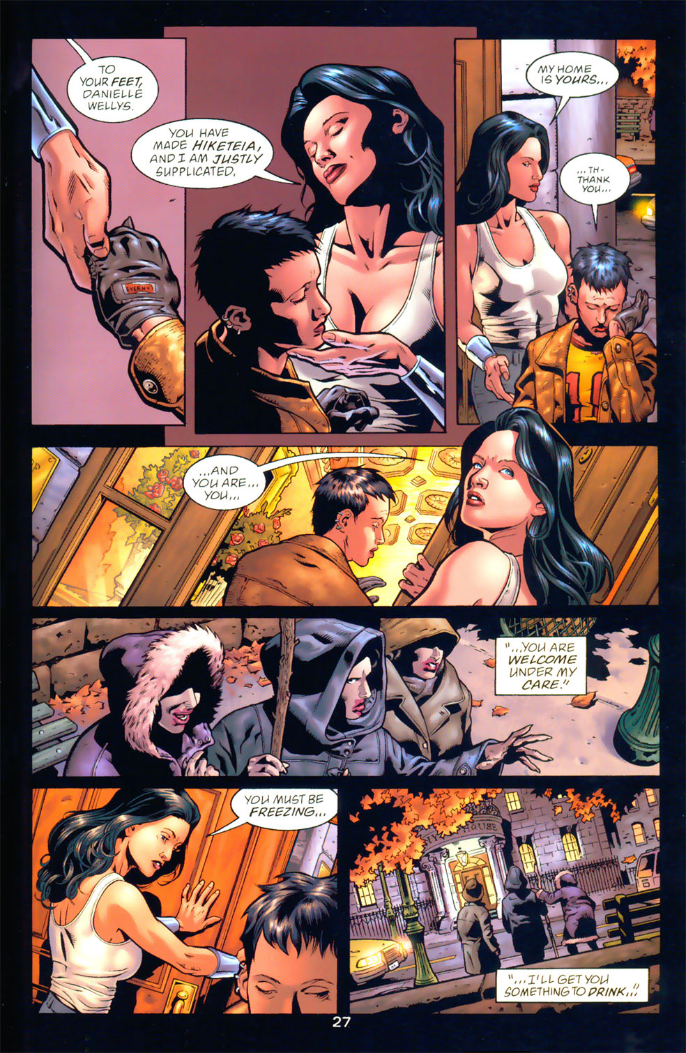 Read online Wonder Woman: The Hiketeia comic -  Issue # Full - 34