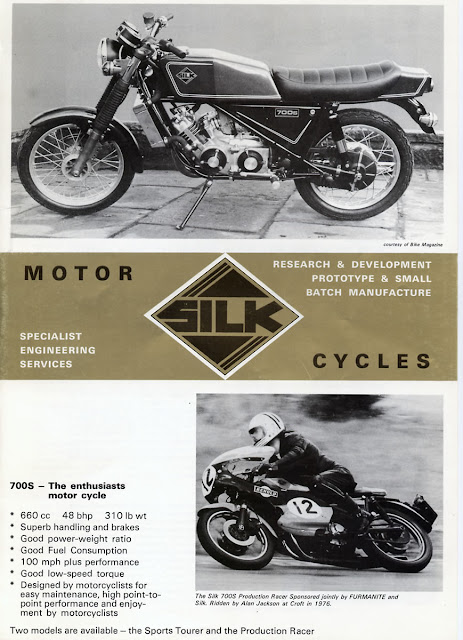Silk 700S Sabre Motorcycle Motorbike