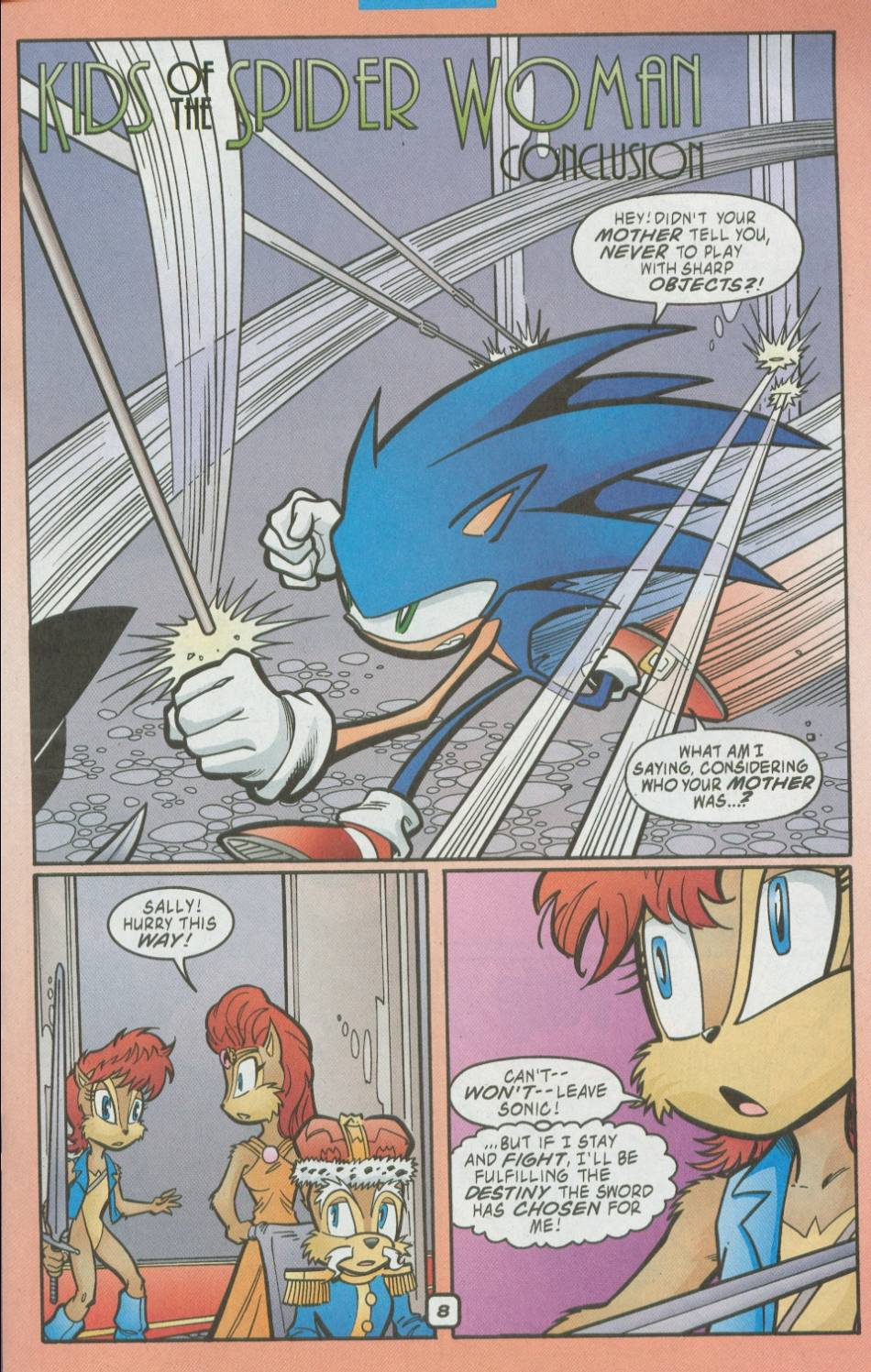 Read online Sonic The Hedgehog comic -  Issue #111 - 10