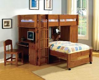 kamar tidur anak tingkat