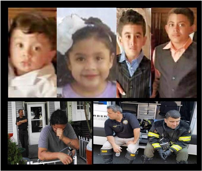 Cuatro niños de origen hispano mueren en devastador incendio en un edificio de viviendas en Nueva Jersey