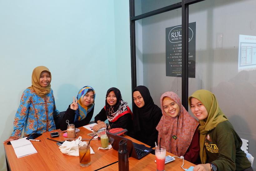 Saya Bersama Anggota Komunitas Makassar Event