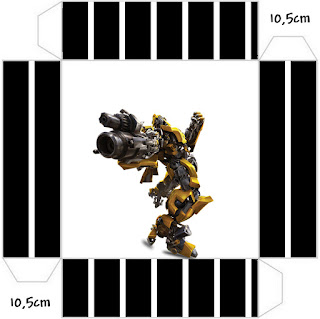 Cajas de Transformers para imprimir gratis.