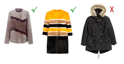 Пальто для худеньких женщин
