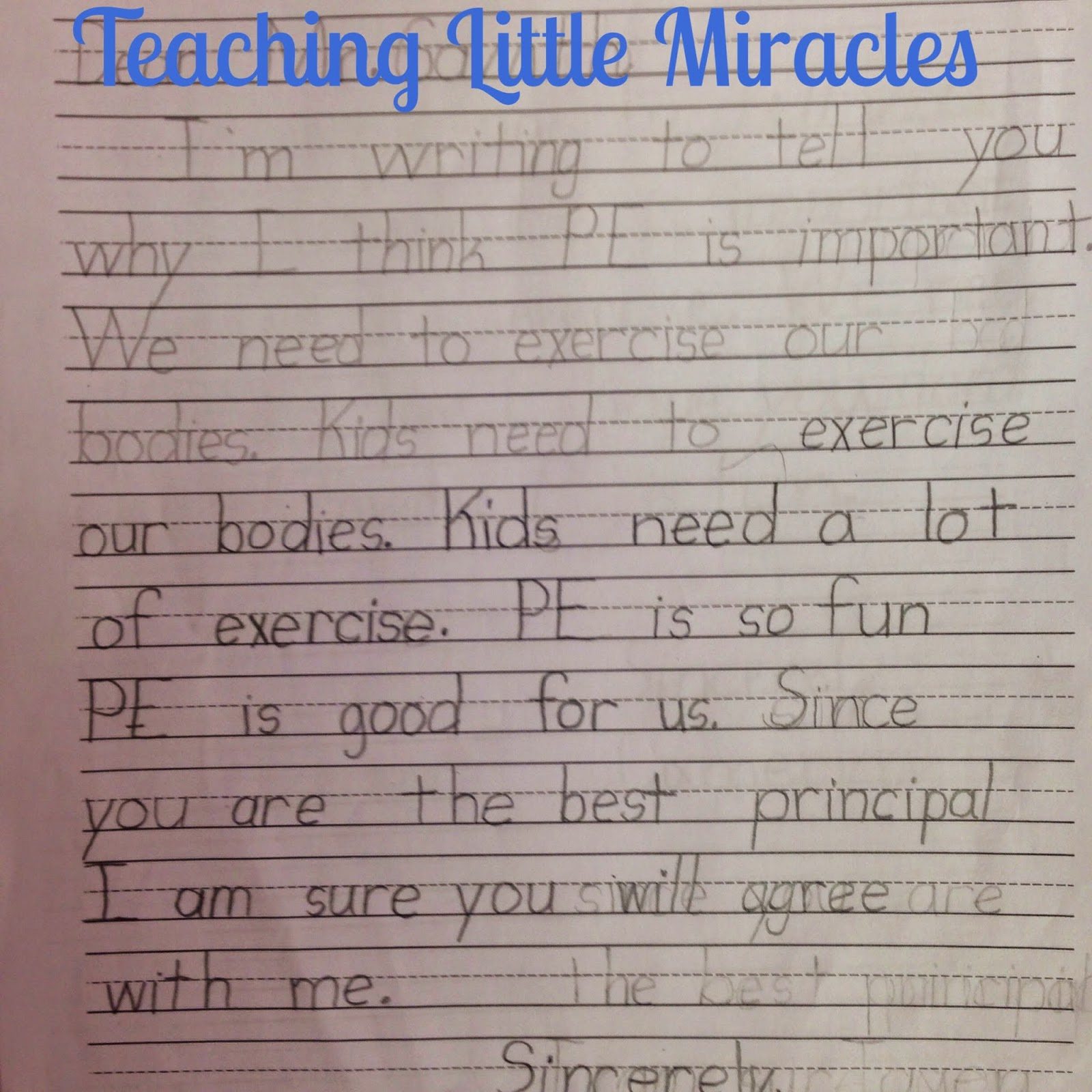 Teaching Little Miracles Five For Friday