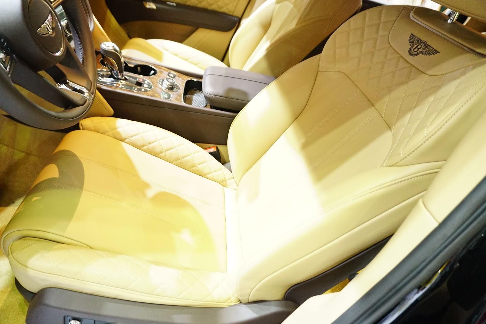 Ngồi ghế lái của Bentley, chắc chắn có nhiều trải nghiệm đỉnh