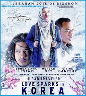 Resensi Novel Love Sparks In Korea, Sinopsis Buku Jilbab Traveler, Asma Nadia