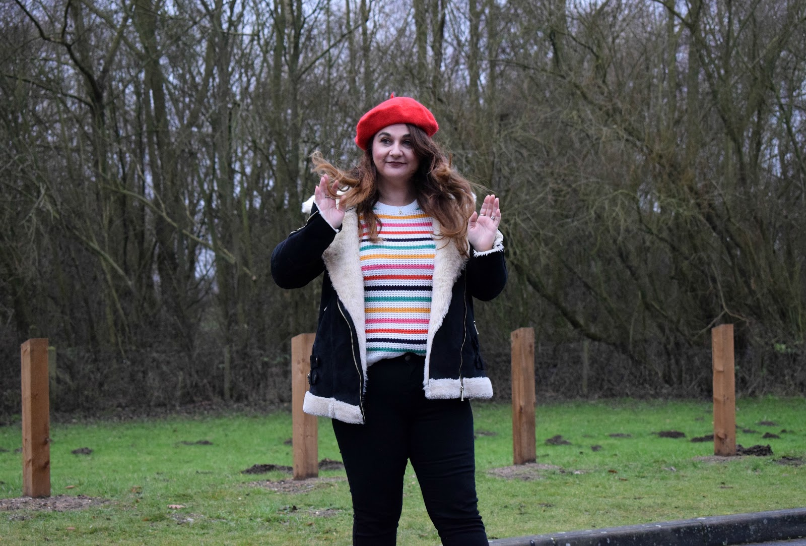 Nastygal stripe jumper
