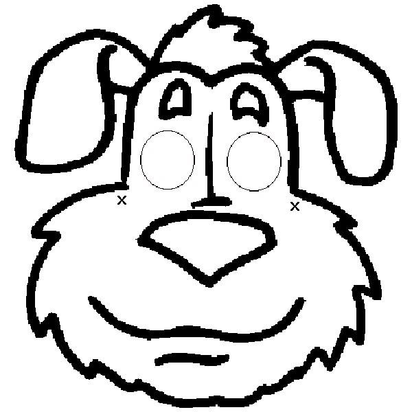 Colorindo E Desenhando: Cachorro Para Colorir