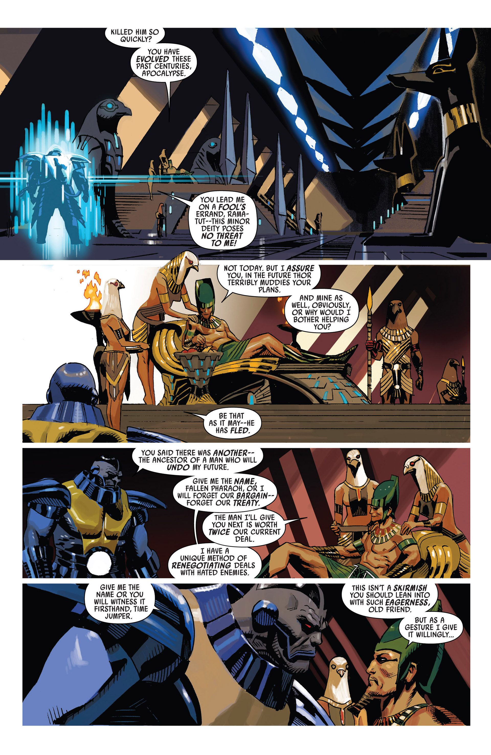 Read online Uncanny Avengers (2012) comic -  Issue #6 - 8