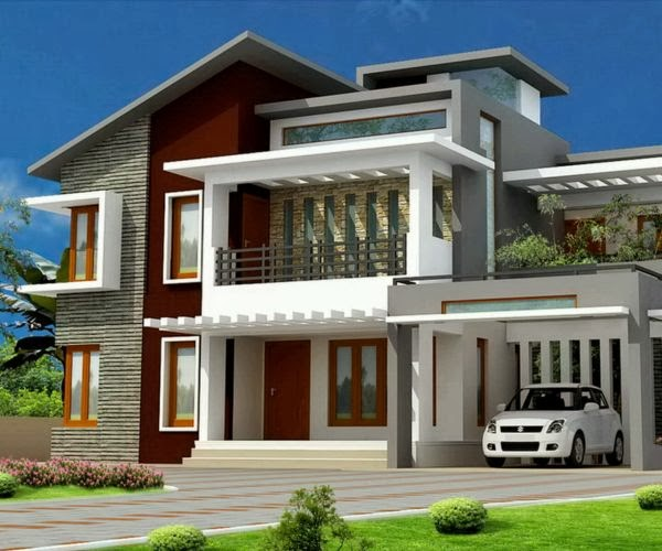 Simple House Design In The Philippines 2016 2017: 100 Contoh Desain Rumah Minimalis Modern 2016