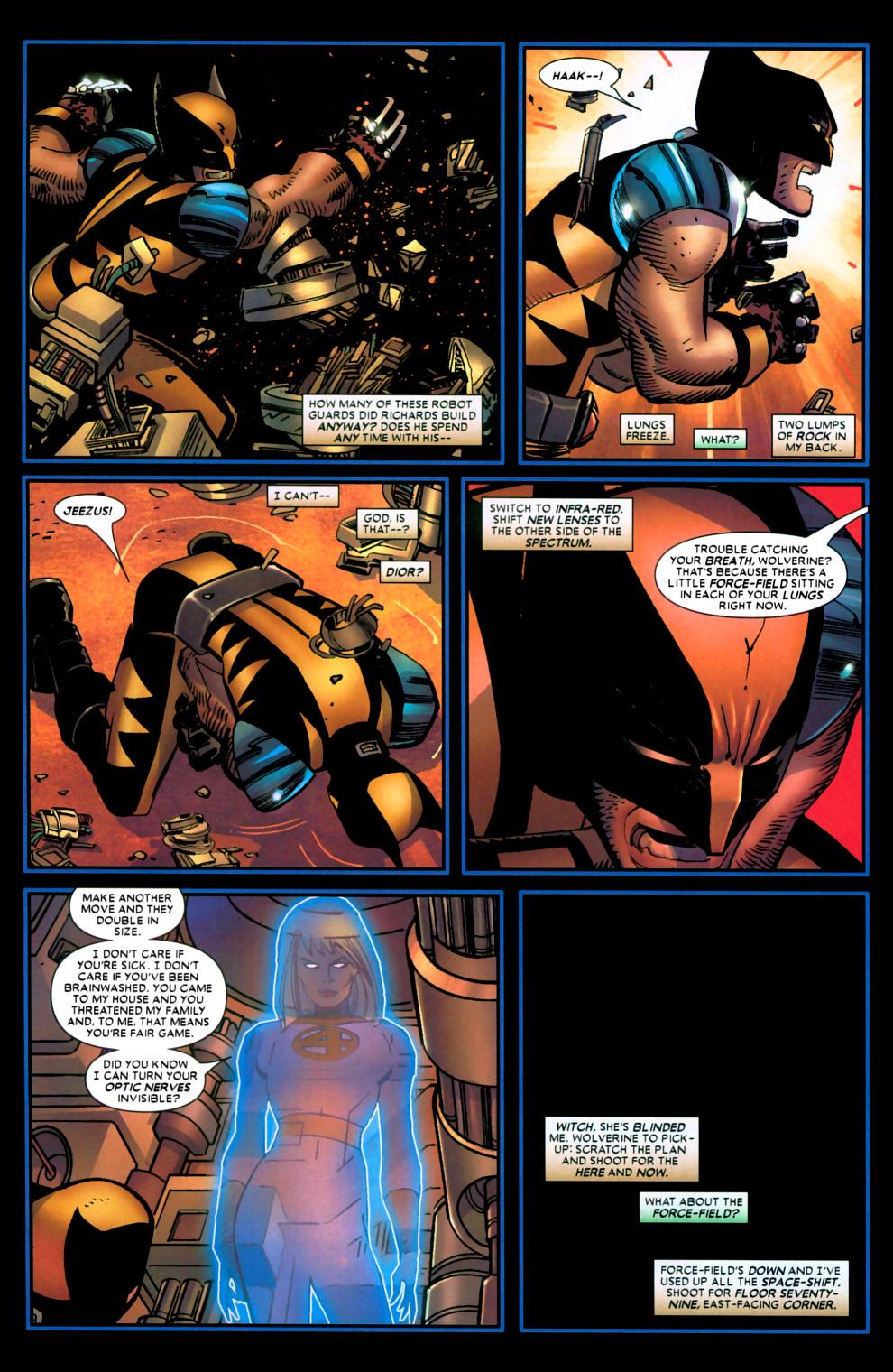 Read online Wolverine (2003) comic -  Issue #22 - 17
