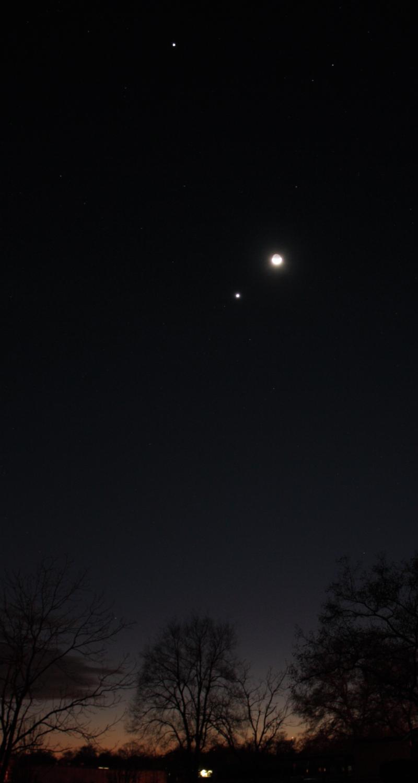 Eastex Astronomy: Mercury, Venus, Jupiter and the Moon