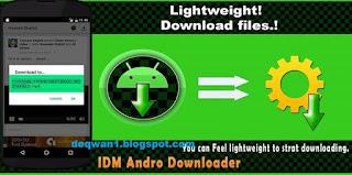 IDM downloader for facebook