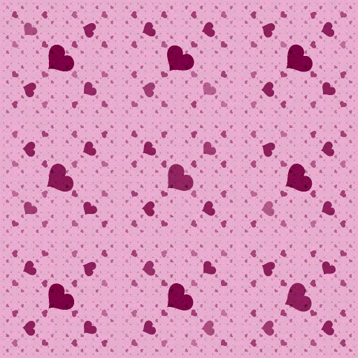 All My Hearts Pattern 2