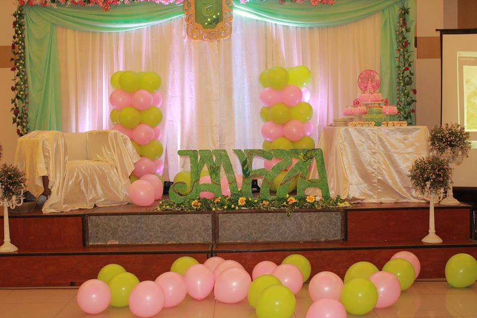 Janezza's Cherry Blossom and Floral Themed Debut Party Davao City