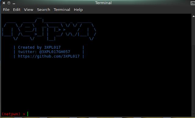Netpwn - Strumento realizzato per automatizzare i compiti di Pentesting
