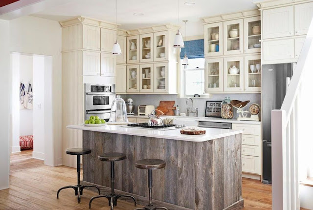 Farmhouse Style Kitchen Islands