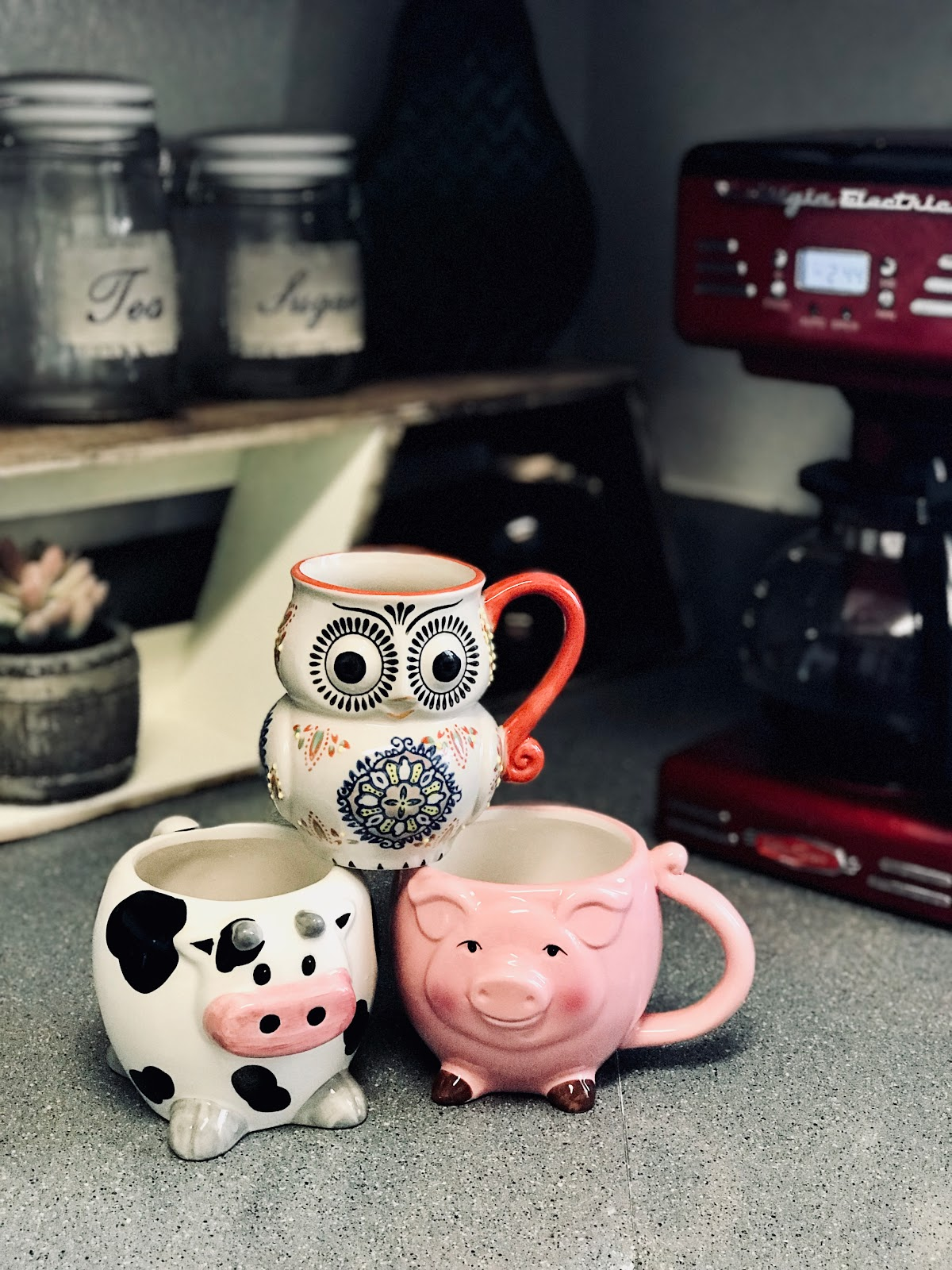My Current Obsession With Animal Coffee Mugs