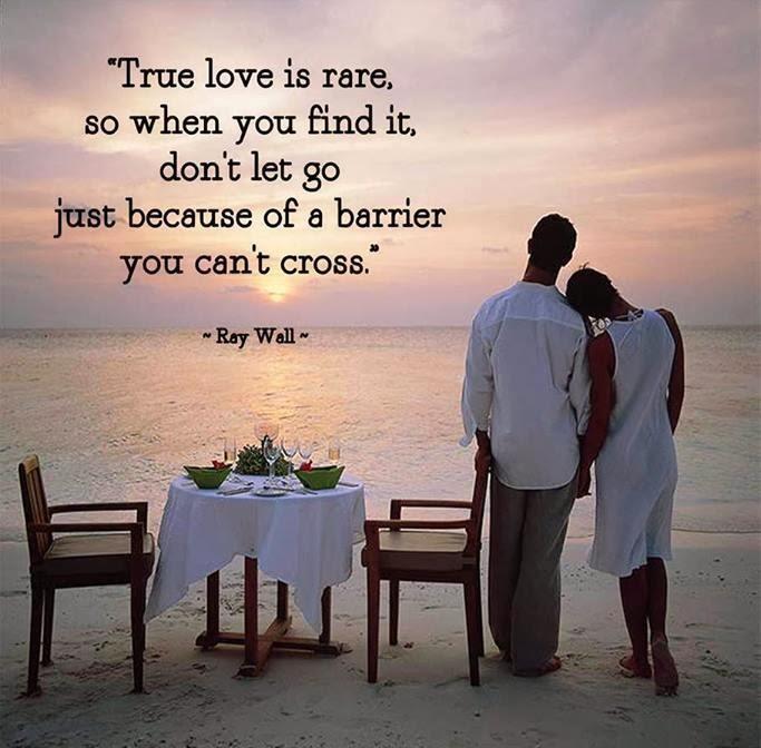 """QUOTES BOUQUET: True Love Is Rare"""
