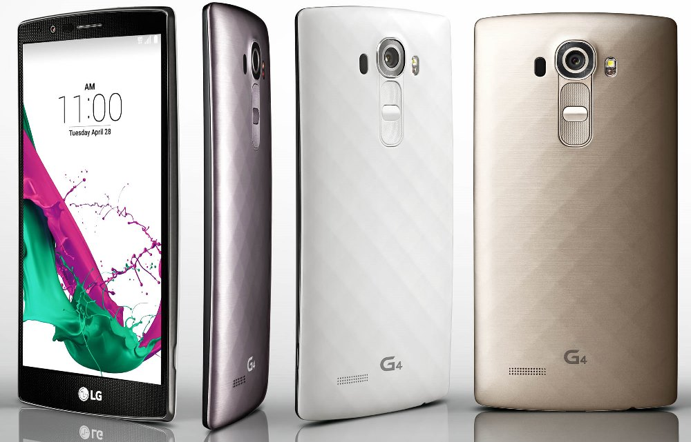 The LG G4 this week will begin shipping in initial markets