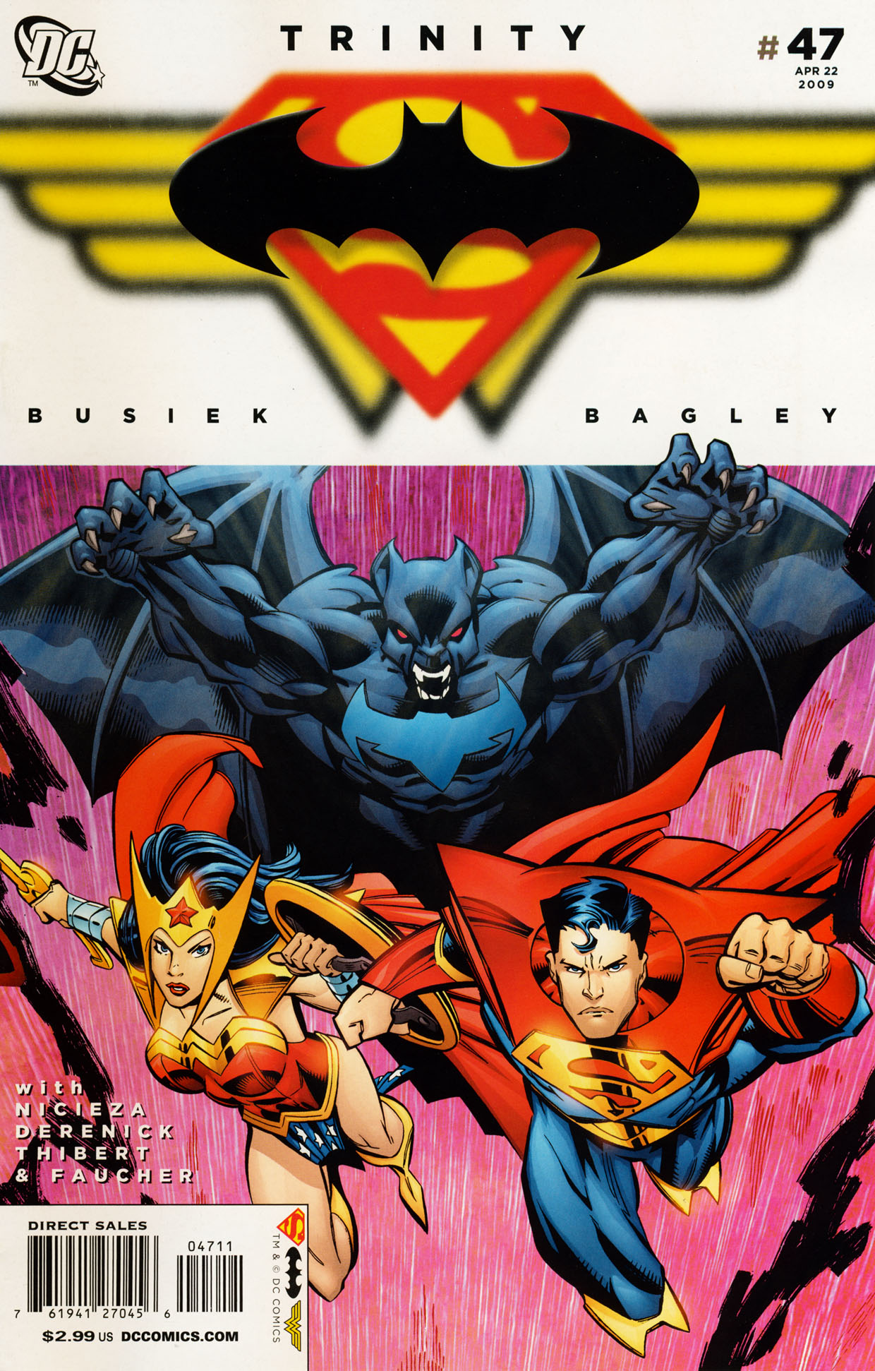 Read online Trinity (2008) comic -  Issue #47 - 1