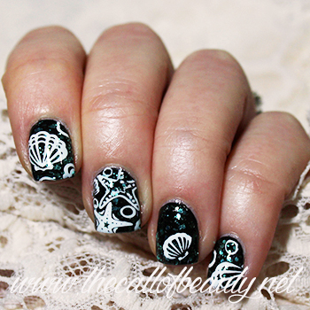 Nail Art: Winter Sea