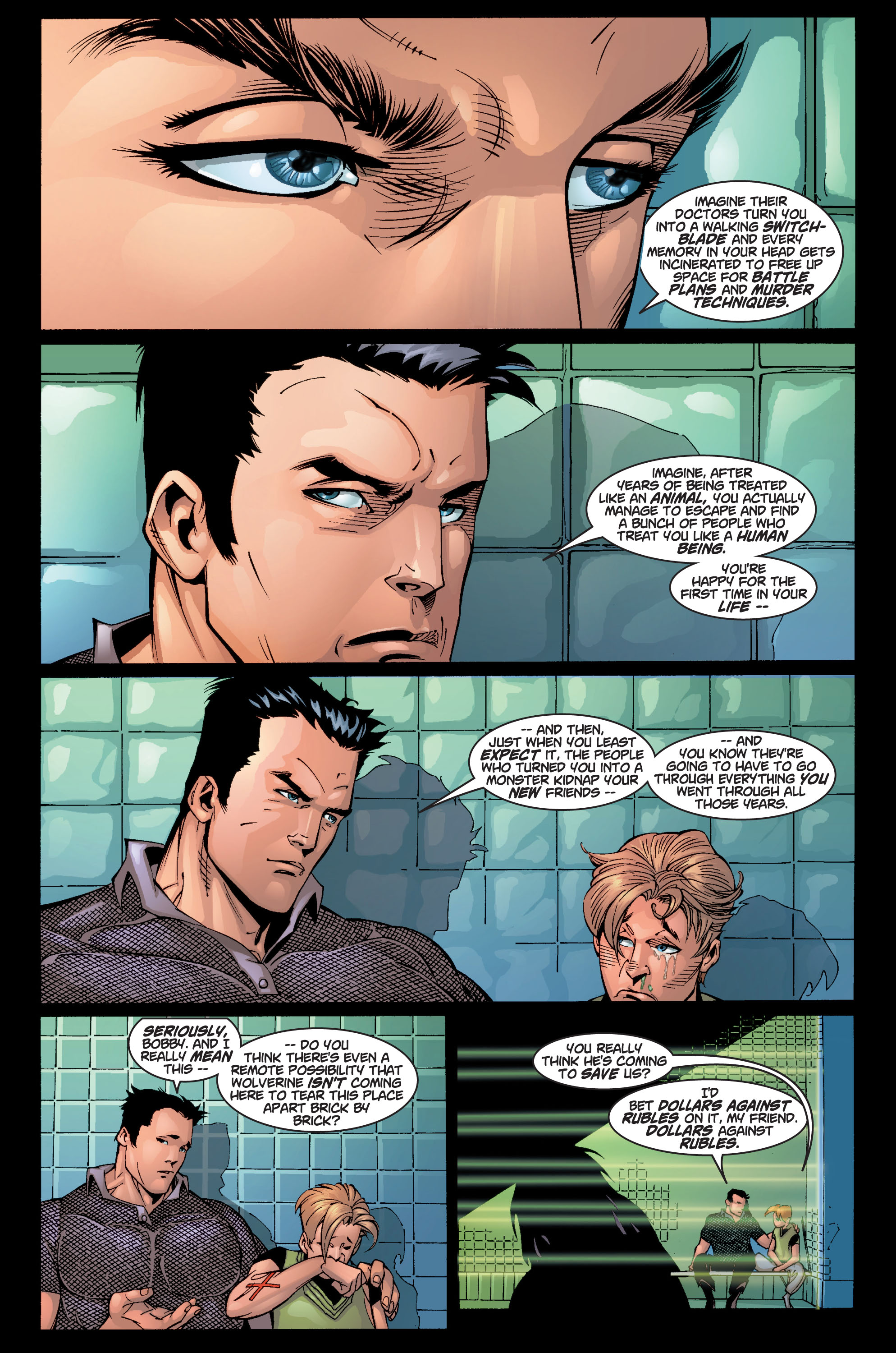 Read online Ultimate X-Men comic -  Issue #10 - 19