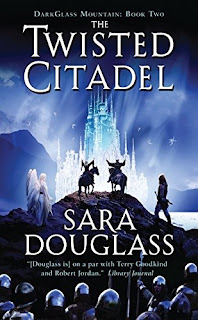 The Twisted Citadel by Sara Douglass | cover love