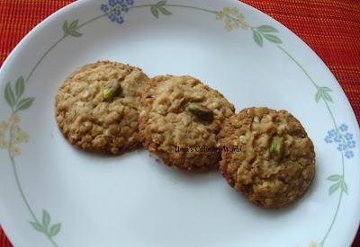 eggless oats wheat cookies or biscuits