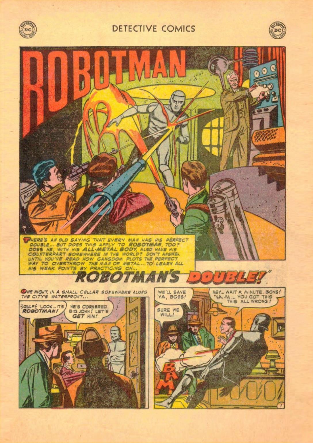 Read online Detective Comics (1937) comic -  Issue #182 - 23