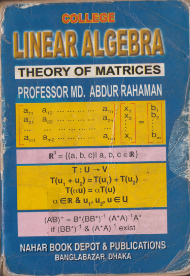 Engineering Books : Linear Algebra Theory of Matrices by