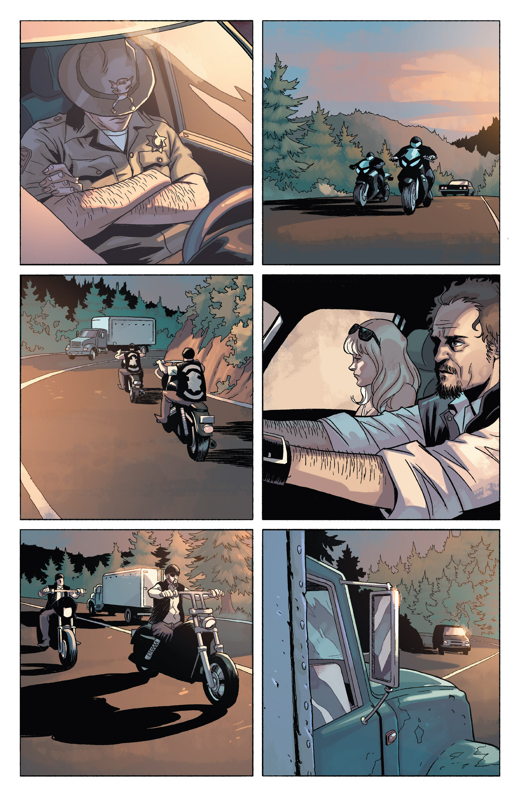 Read online Sons of Anarchy comic -  Issue #4 - 23